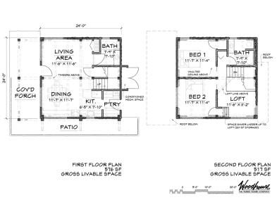 RockyView Floor Plan
