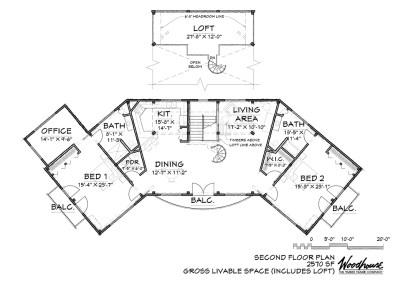 Seneca 2nd Floor Plan