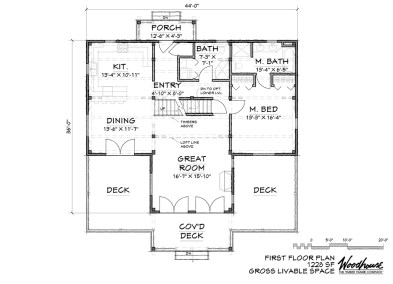 StoneRidge 1st Floor Plan
