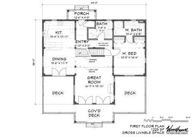 StoneRidge 1st Floor Plan