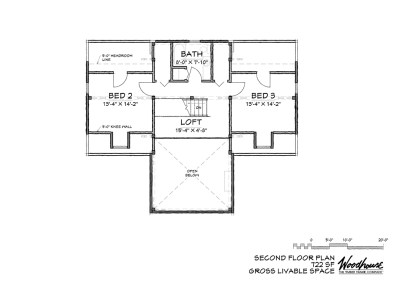 StoneRidge 2nd Floor Plan