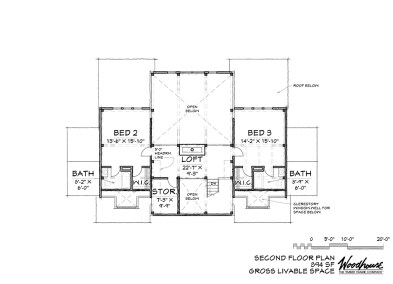 SummitView 2nd Floor Plan