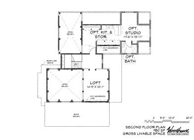 TimberRidge 2nd Floor Plan