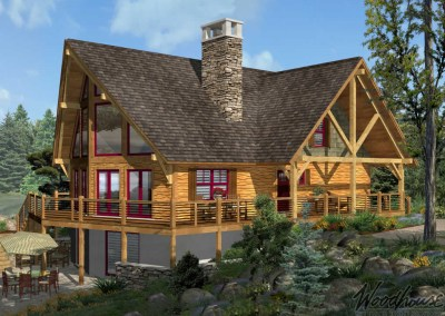 Adirondack Homes Series - Woodhouse The Timber Frame Company