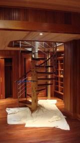 Custom Red Oak Timber Frame Home – Isleboro, ME