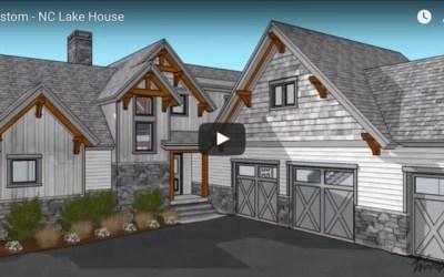 North Carolina Timber Frame home
