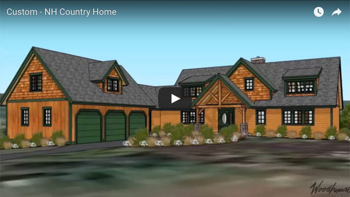 Timber Frame Home in NH