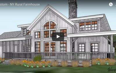 Timber Frame Home in rural New York