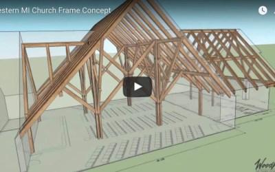 Western Michigan Church Frame Concept