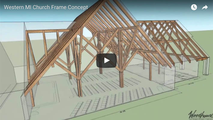 Western Michigan Church Frame Concept