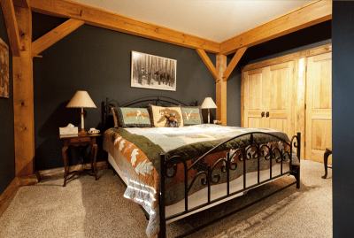 Chapin Timber Frame Bedroom 2