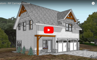 Custom New York Timber Frame Carriage House