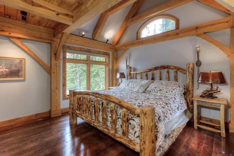 Bedroom Design - Timber Frame Home