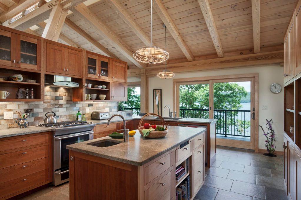 Kitchen Design - Timber Frame Homes