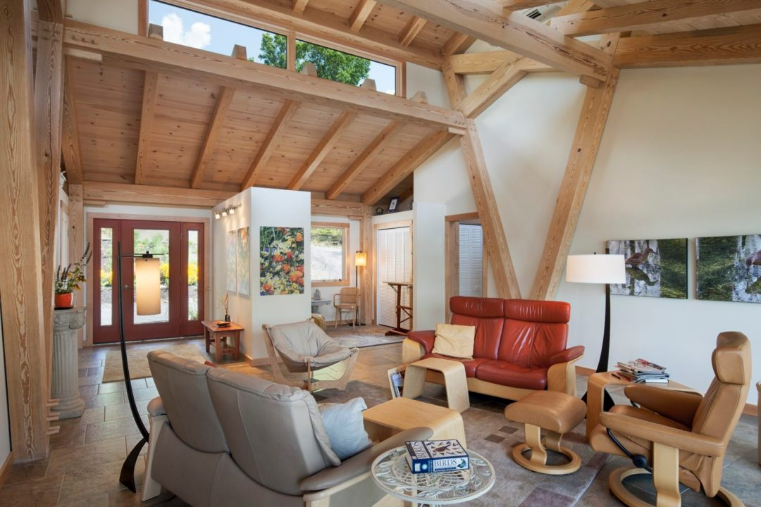 Designing a timber frame living space