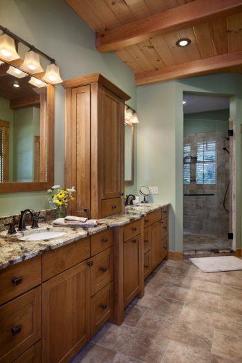 Bathroom Design - Timber Frame Homes