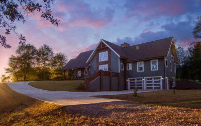 Southern Yellow Pine Timber Frame Home – Carrollton, GA
