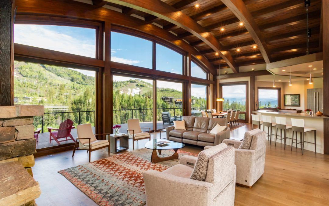 Contemporary Mountain Home in Steamboat Springs by Architect Mike Olsen