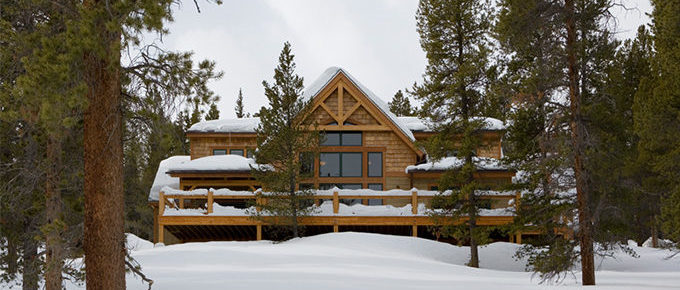 SummitView Southern Yellow Pine Timber Frame Home – Breckenridge, CO