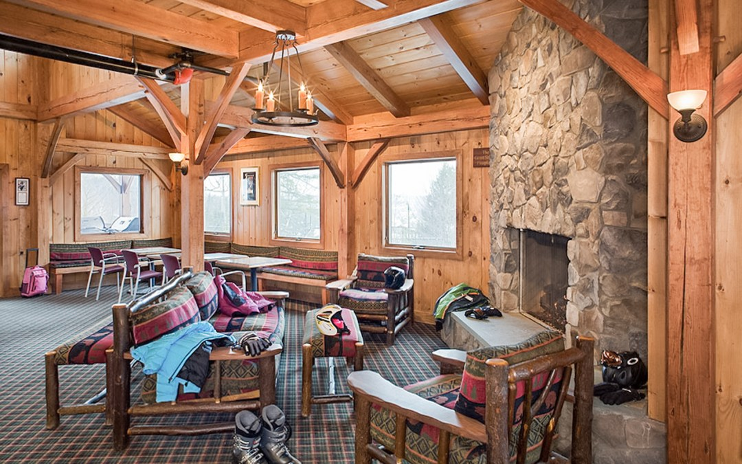 Cozy Traditional Timber Frame Ski Lodge in Windham, NY