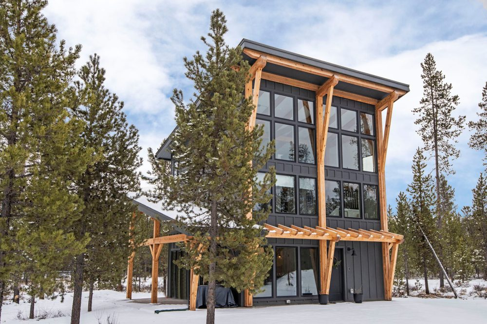 Customize your timber frame home for your climate.