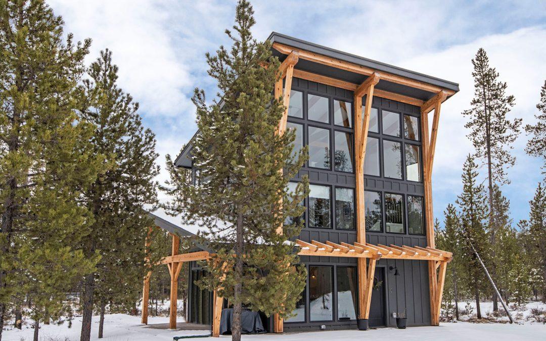 Timber Frame Builder Spotlight: Monson Inc. Construction