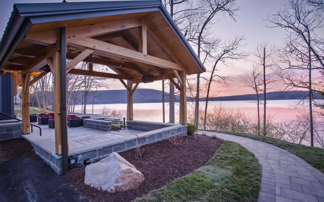 Designing a Timber Frame Pavilion