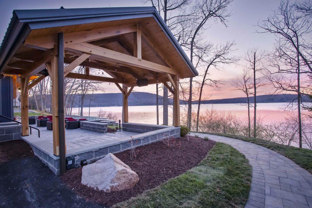 Timber Frame Restaurant - Firewater Kitchen 6