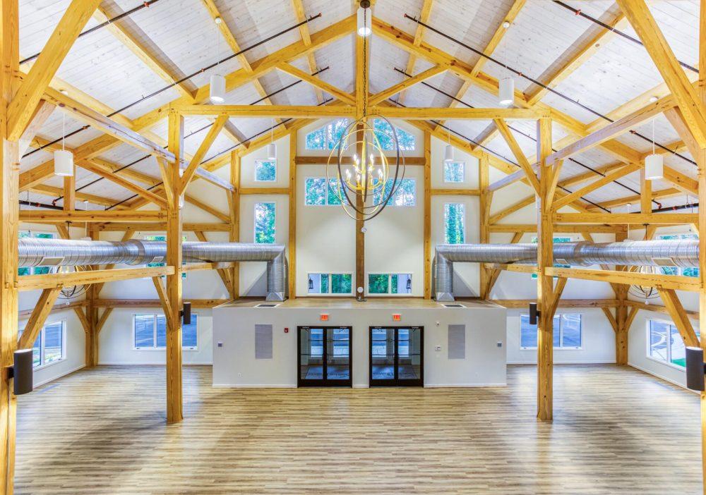 Custom Modern Timber Frame Event Venue