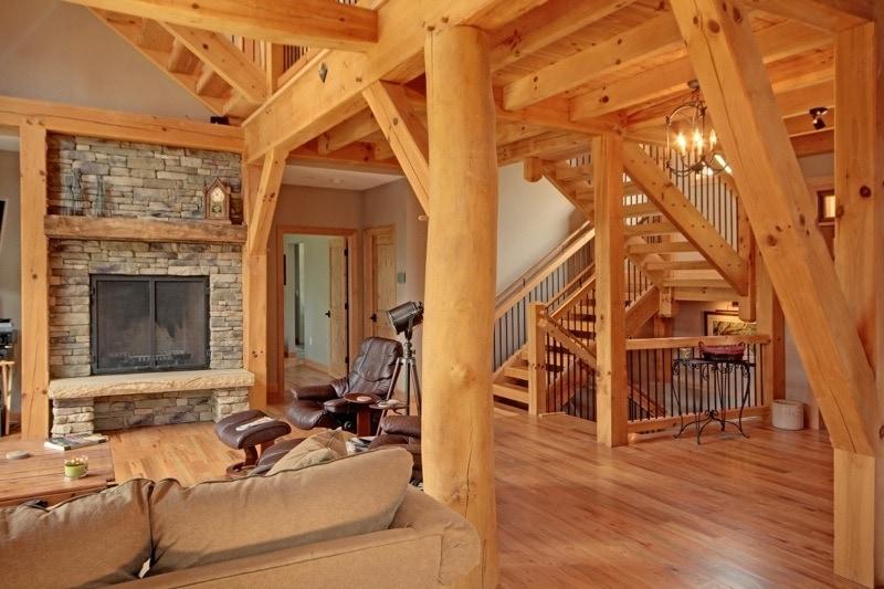 Houses Interior Timber Frame HQ