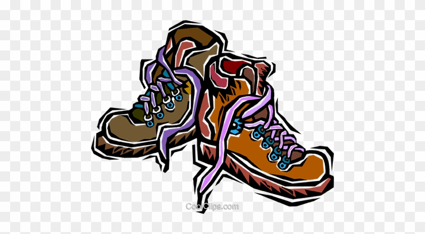 207 2079872 Hiking Boots Royalty Free Vector Clip Art Illustration