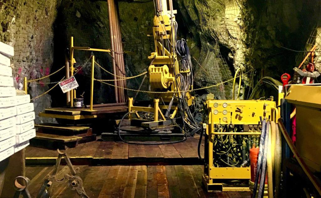 Underground Drilling Rig