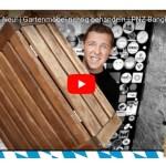 Gartenmöbel: Konstantin zeigt, wie man sie richtig pflegt (Video)