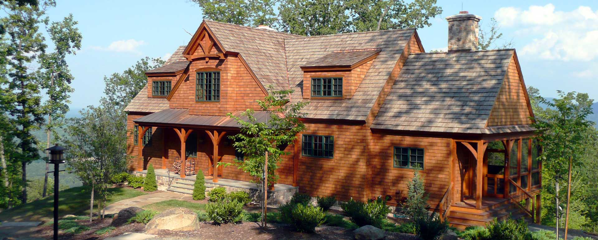 Timber Frame Homes   Post and Beam Plans  Timberpeg Post and Beam Mountain Home in Virginia