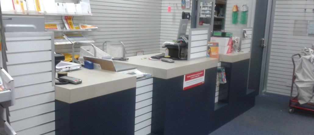 Timbertown Kitchens Joinery for Australia Post Offices