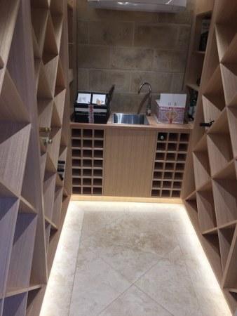Timbertown Kitchens Wine Cellar possibilities