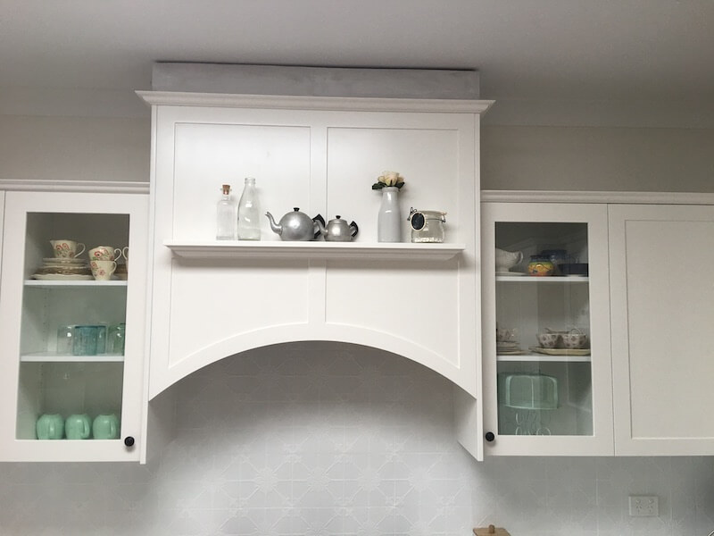 Kitchen Stove Chimney Breast by Timbertown Kitchens