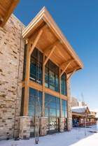 Timber framing Park City, Utah