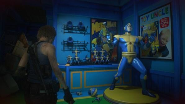 re3 remake toy store mega man