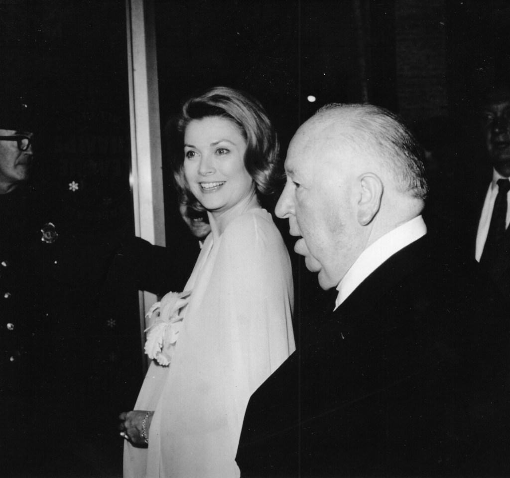 Princess GraceAlfred Hitchcock