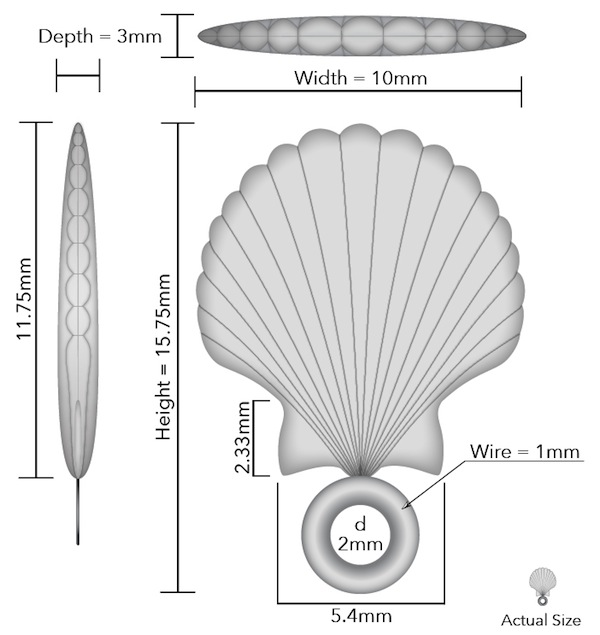 Seashell Jewelry Technical Schematic