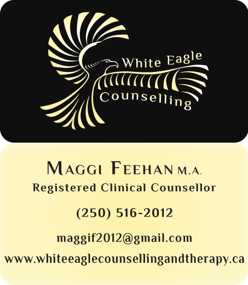 White Eagle Counselling Business Cards