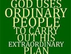 God uses people