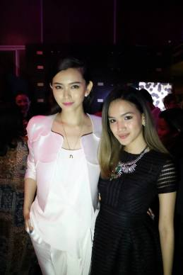 Fox Sports' Natalia Ng with Stephanie Lim