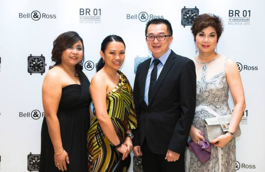 Ms Jenny Ng, Ms Laily Tang, Mr Chocky Ng and Datin Teo