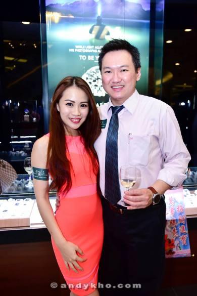 with Elaine Wong