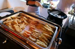 Freshly made tempura!
