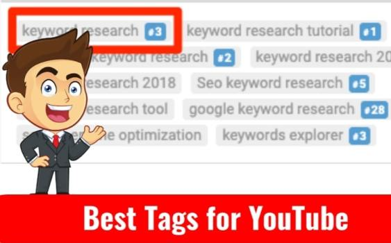 Best popular Tags for YouTube Channel Videos