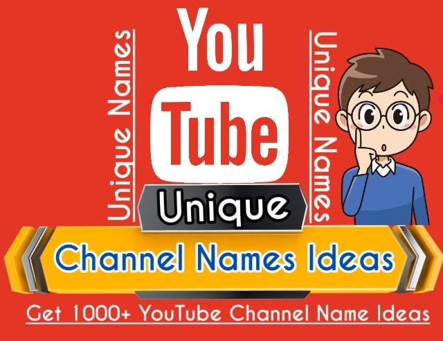 Names for Youtube Channel