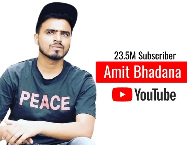 Most Subscribed YouTube Channels in India Amit Bhadana